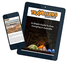 Free Camping in Australia Front Cover